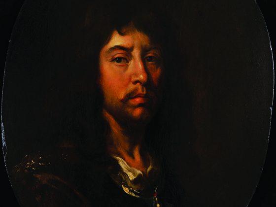 """Andreas Stech, """"Autoportret"""", 1675 (źródło: materiały prasowe Muzeum Narodowego w Gdańsku)"""