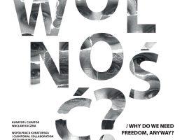 """""""I po co nam wolność?"""" – plakat (źródło: materiały prasowe organizatora)"""