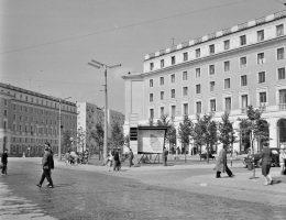 Ukończony pl. Centralny, po 1960 r., fot. Henryk Hermanowicz, wł. MHK (źródło: materiały prasowe organizatora)