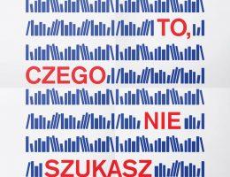 Warszawski Weekend Księgarń Kameralnych, plakat (źródło: materiały prasowe organizatora)
