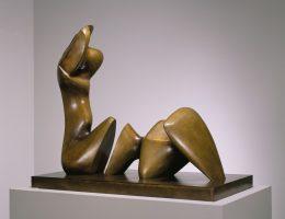 """""""Working Model for Two Piece Reclining Figure: Cut"""", 1978–79 (źródło: materiały prasowe organizatora)"""