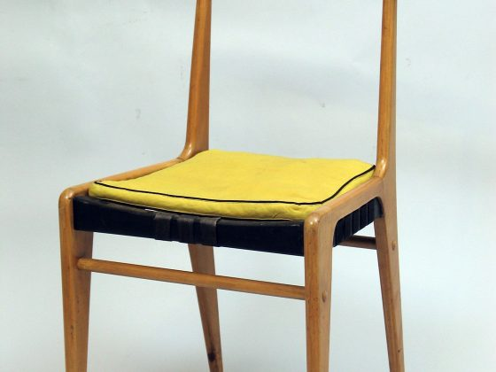 """Jerzy Sołtan, """"Krzesło"""", 1954, kolekcja Muzeum ASP w Warszawie (źródło: materiały prasowe organizatora)"""