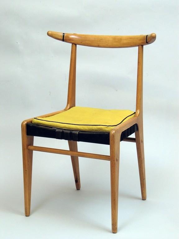 Jerzy Sołtan, Krzesło, 1954, kolekcja Muzeum ASP w Warszawie(źródło: materiały prasowe organizatora)