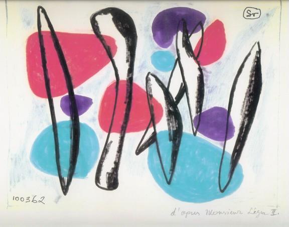 """Jerzy Sołtan, """"D'Apres Monsieur Léger II"""", 1962-1993, kolekcja Muzeum ASP w Warszawie (źródło: materiały prasowe organizatora)"""