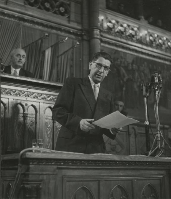 Przemówienie w parlamencie węgierskim, fot. archiwum ZNiO (źródło: materiały prasowe organizatora)