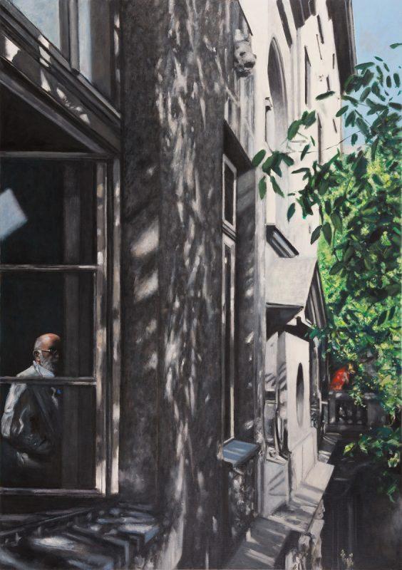 """Łukasz Korolkiewicz, """"Punkt obserwacyjny"""", 2014, dzięki uprzejmości artysty i galerii Monopol (źródło: materiały prasowe organizatora)"""