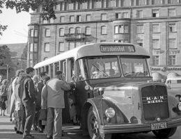 """""""W drodze do cudu gospodarczego – Norymberga na fotografiach z lat 1945–1960"""" (źródło: materiały prasowe organizatora)"""