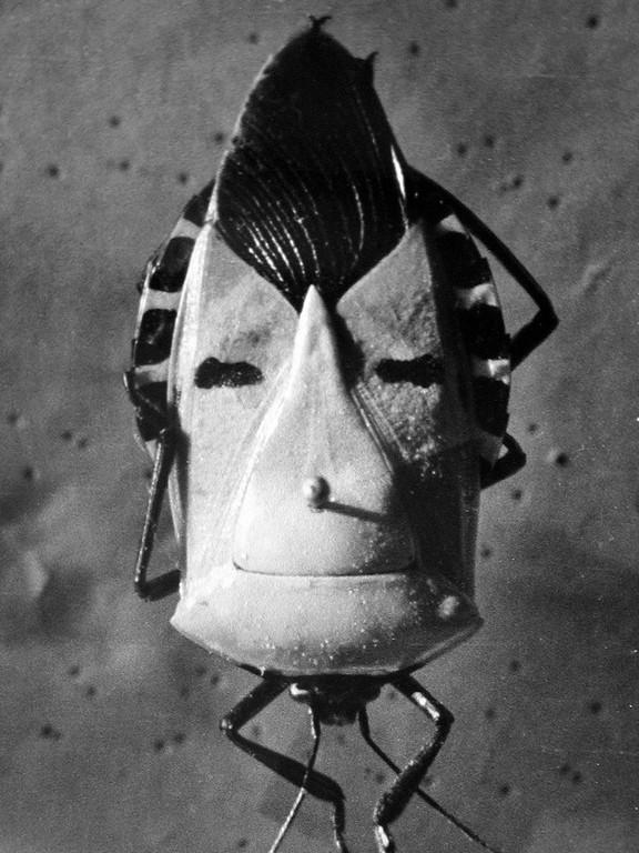 """Andrzej J. Wróblewski, """"Maska"""", ok. 1956, fotografia czarno-biała, archiwum artysty (źródło: materiały prasowe organizatora)"""
