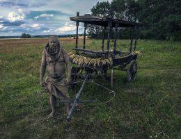 8. Land Art Festiwal, Robert Kuśmirowski (źródło: materiały prasowe organizatora)