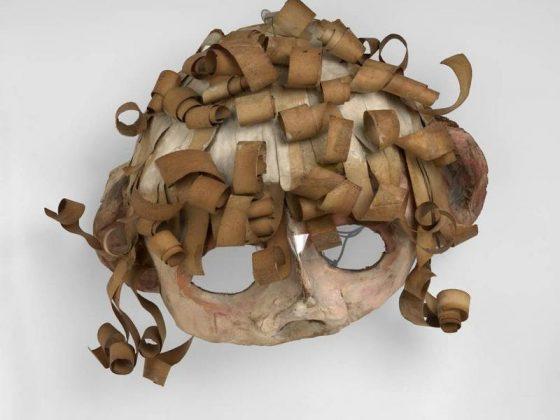 Franciszka Themerson, Maski Ubu, 1951, © Themerson Estate, London Richard Saltoun Gallery, London (źródło: materiały prasowe organizatora)