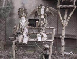 "Remigiusz Koniecko, ""Faceless Masks"" (źródło: materiały prasowe organizatora)"