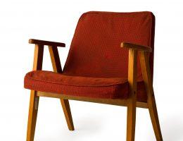 Fotel projektu Józefa Chierowskiego, 1962 IV (źródło: materiały prasowe organizatora)