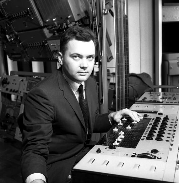 """""""Trough The Soundproof Curtain. The Polish Radio Experimental"""", fot. Andrzej Zaborski,1962-1972 (źródło: materiały prasowe organizatorów)"""