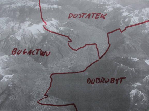 """Kornel Janczy, """"Unfortunately"""", 2011, wydruk cyfrowy na papierze (źródło: materiały prasowe organizatora)"""