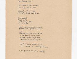 """Z. Herbert, """"Testament. Wiersze z lat 1950–1975"""", Muzeum Pana Tadeusza we Wrocławiu (źródło: materiały prasowe organizatorów)"""