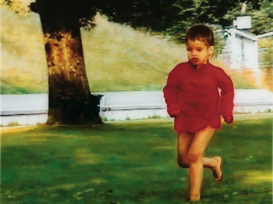 """Silvia Gertsch, """"Summer"""", 2003 r., olej na szkle, kolekcja prywatna, Aargau, fot. Markus Mühlheim (źródło: materiały prasowe organizatorów)"""