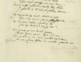"""""""Testament mój, Juliusz Słowacki, 1839-1840"""", Muzeum Pana Tadeusza we Wrocławiu (źródło: materiały prasowe organizatorów)"""