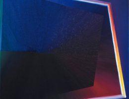 """Alicja Anna Trochim, """"Medytacja"""", 2018, olej na płótnie, 90 x 90 cm (źródło: materiały prasowe organizatora)"""