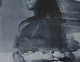 """Weronika Pawłowska, """"Wieloportret"""", 2017, akryl na płycie, 120 x 154 cm (źródło: materiały prasowe organizatora)"""