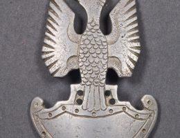 Orzeł jeniecki, Rzesza Niemiecka, 1939–1945, aluminium, grawerowanie, ręcznie wycinany, fot. © MNG (źródło: materiały prasowe organizatorów)