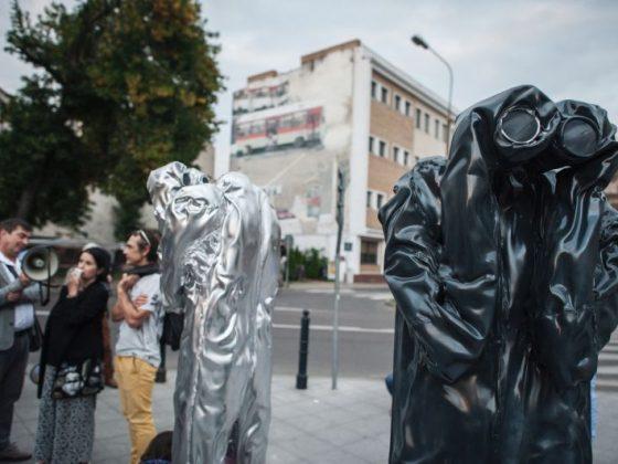 """Krzysztof Sołowiej, """"Watchmen dla Lublina"""" (źródło: materiały prasowe organizatora)"""