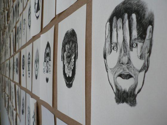 """Paweł Kaczmarczyk, z cyklu """"Ja i obrazy mojej Jaźni"""", 2014–2017 (źródło: materiały prasowe organizatora)"""