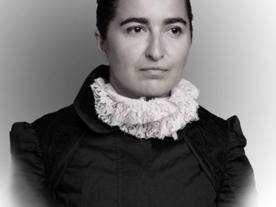 """Anka Leśniak, """"patRIOTki"""", 2016, z serii portretów zrealizowanych w ramach projektu, dokumentacja fotograficzna Tomasz Komorowski (źródło: materiały prasowe organizatora)"""