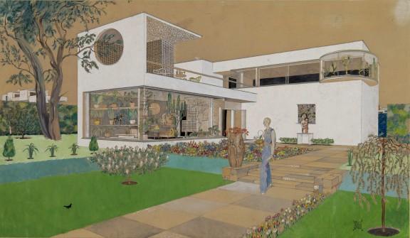 Projekt willi, 1935, Gyula Tálos, Węgierskie Muzeum Architektury i Centrum Dokumentacji Ochrony Zabytków (źródło: materiały prasowe organizatorów)