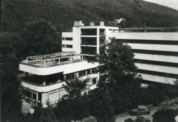 Sanatorium Machnáč w Trenczyńskich Cieplicach, 1930-1932, arch. Jaromír Krejcar, Archiwum Architektury XX wieku, Wydział Architektury, Instytut Historii SAN (źródło: materiały prasowe organizatorów)