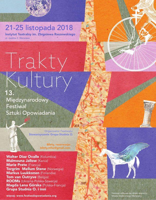 Międzynarodowy Festiwal Sztuki Opowiadania 2018 (źródło: materiały prasowe organizatora)
