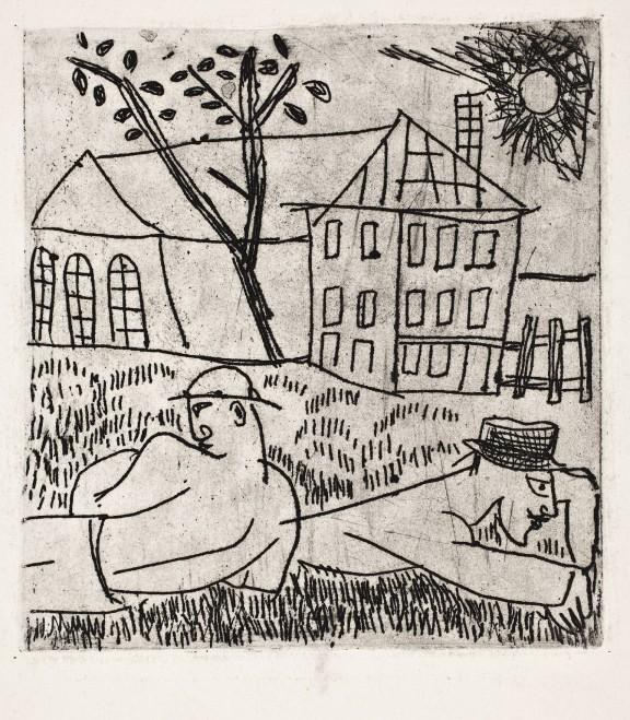 """""""Odpoczynek"""", Leopold Lewicki, 1931-1932, fot. Wojciech Rogowicz (źródło: materiały prasowe organizatora)"""