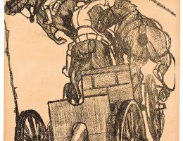 Plakat propagandowy autorstwa Eugeniusza Gepperta, 1920 (źródło: materiały prasowe organizatora)