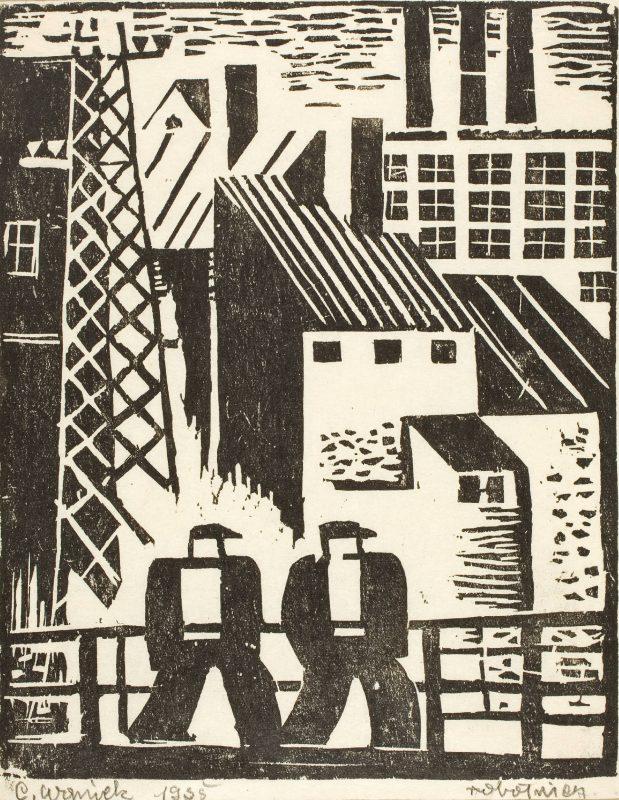 """""""Robotnicy"""", Eugeniusz Waniek, 1935, fot. Arkadiusz Podstawka (źródło: materiały prasowe organizatora)"""