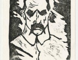 Grafika przedstawiająca Józefa Piłsudskiego, 1981; kolekcja prywatna (źródło: materiały prasowe organizatora)