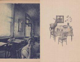 """Joanna Concejo, """"W kawiarni"""" (źródło: materiały prasowe organizatora)"""