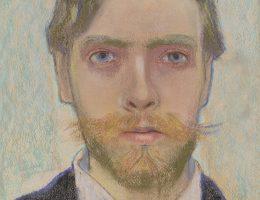 Stanisław Wyspiański, Portret własny artysty, 1897. Pastel, papier. Fot. Michał Obarzanowski/Mirosław Żak, Muzeum Narodowe w Krakowie