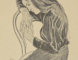 Stanisław Wyspiański, Zadumana. Życie. tygodnik ilustrowany, literacko-artystyczny, Rok 2, 1898, nr 50