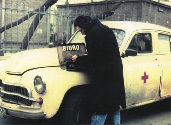 Codzienne zajęcia Biura, 1988-1989, fot. z archiwum artysty (źródło: materiały prasowe organizatora)