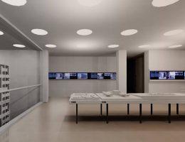 Muzeum Architektury we Wrocławiu, przestrzeń CFA, autor: Jednostka Architektury (Marta Mnich, Łukasz Wojciechowski) (źródło: materiały prasowe)
