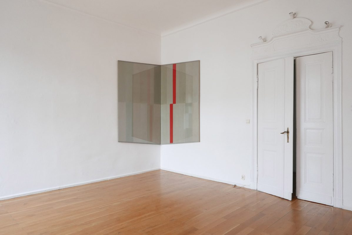 Widok wystawy Mikołaja Polińskiego w Galerii Muzalewska, fot Galeria Muzalewska (źródło: materiały prasowe)