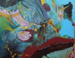 Marius von Brasch, Przestrzenie poprzednie / zapomniane 1 / Preceding / Forgotten Spaces 1, 2011-2012,olej na lnie/oil on linen, fot. © Priseman Seabrook Collection (źródło: materiały prasowe)