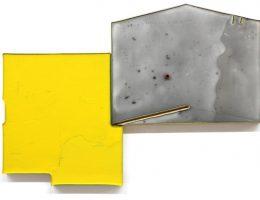 Thomson Molly, Realizacja kaprysu / The Realising of a Caprice, 2017, akryl na desce (dwa elementy) /Acrylic on board(two compo-nents), fot. © Priseman Seabrook Collection (źródło: materiały prasowe)