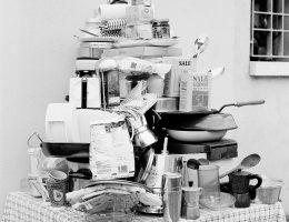Eleonora Agostini, Angolo Cottura, Aneks kuchenny, fotografia czarno-biała, 2018, fot. © Eleonora Agostini (źródło: materiały prasowe)