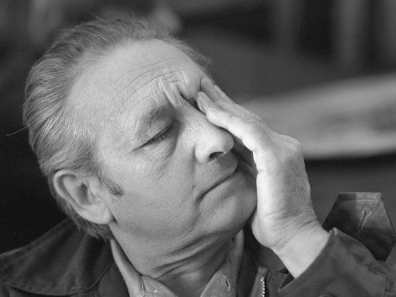 Andrzej Wajda, fot. Maciej Billewicz (źródło: materiały prasowe)
