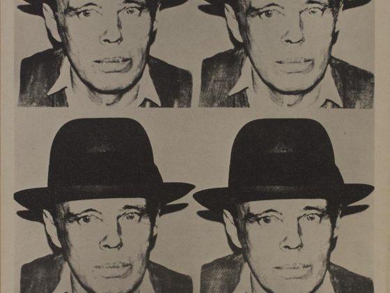 Joseph Beuys, Beuys by Warhol, grafika, 1980 (źródło: materiały prasowe)
