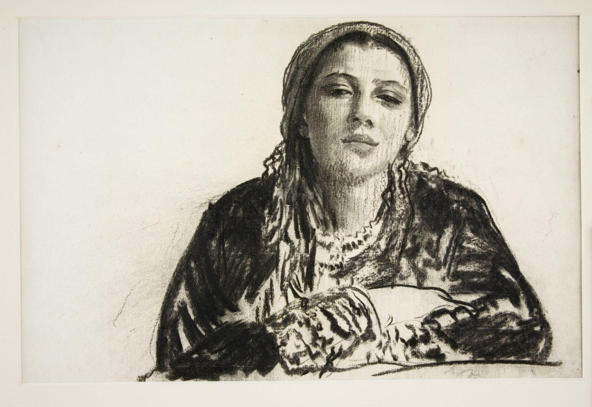 Leon Wyczółkowski, Dziewczyna z okolic Krakowa, 1907, Muzeum Narodowe w Krakowie (źródło: materiały prasowe)