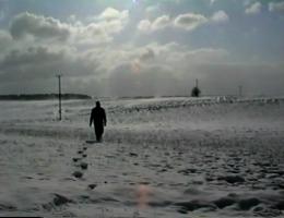 Simon Faithfull, Going Nowhere 1 / Idąc donikąd 1, 1995 (źródło: materiały prasowe)