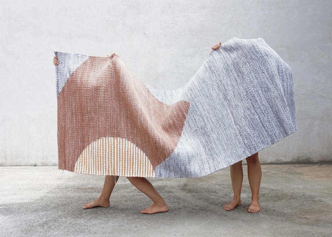 ASP Łódź, Jadwiga Lenart, Kolekcja ręcznie tkanych kilimów (źródło: materiały prasowe)