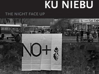 Plakat wystawy W nocy twarzą ku niebu (źródło: materiały prasowe)