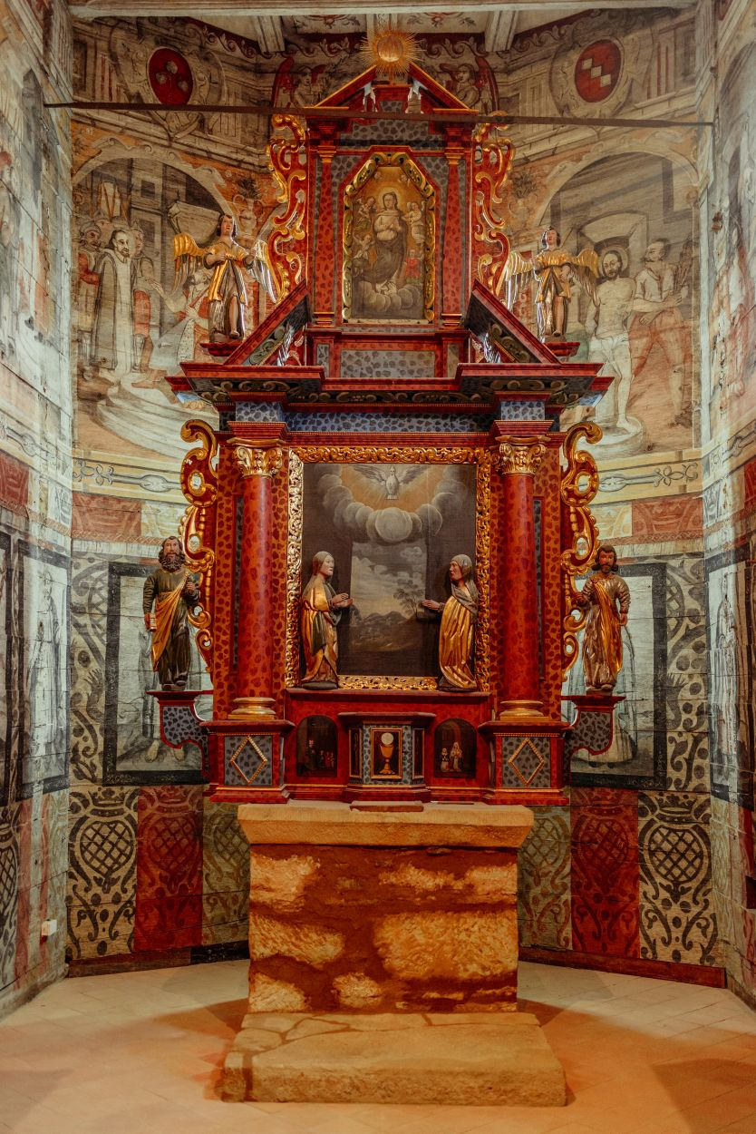 Wnętrze kościoła pw. Nawiedzenia NMP w Iwkowej, fot. K. Schubert (źródło: materiały prasowe)